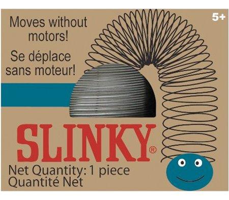 The Original Slinky Brand Metal Slinky in Blue Retro Box