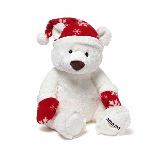 Gund 2016 Amazon Collectible Holiday Teddy Bear Plush