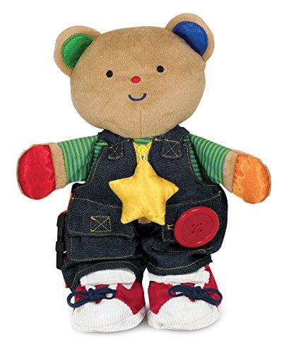 Melissa Doug Ks Kids - Teddy Wear Stuffed Bear Educational Toy