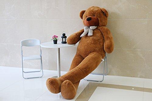 Joyfay 91 Giant Teddy Bear Dark Brown