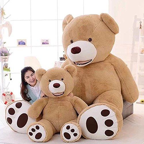 Stuffed Teddy Bears With Big Footprints Light Brown 12m  47 inch