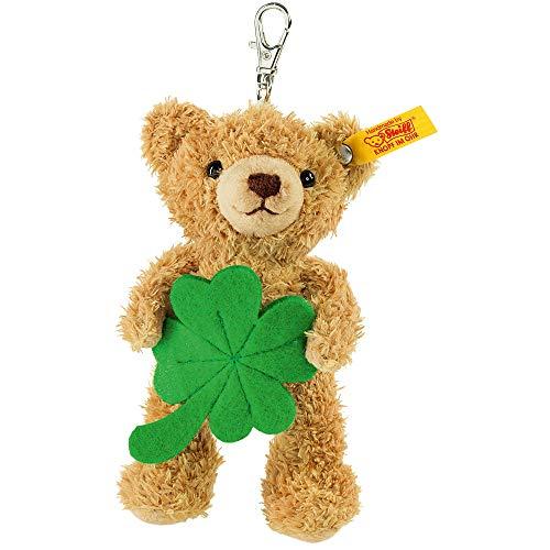 Steiff 111877 Lucky Charm Teddy Bear Plush Animal Toy Golden Brown