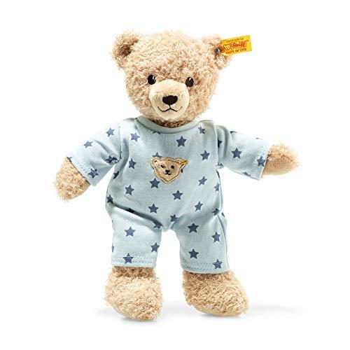 Steiff Baby Teddy Me Teddy Bear Boy with Pajamas BeigeBlue