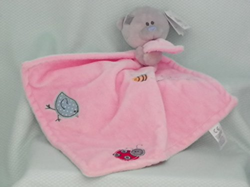 Me To You Pink Tiny Tatty Teddy Bear Baby Comforter