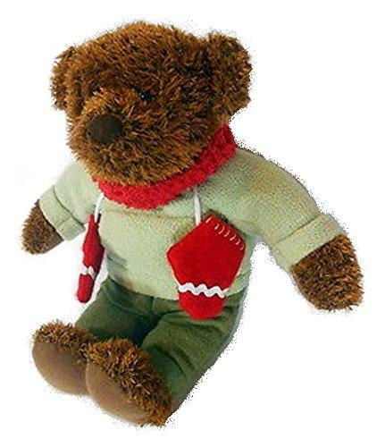Hallmark 12 Teddy Mittens Plush Celebrating 100th Anniversary of the Teddy Bear 2002
