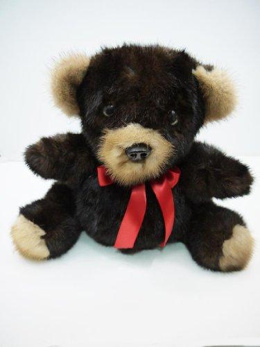 Mink Fur Teddy Bear Made in New York
