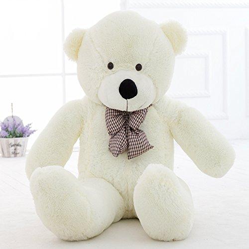 MorisMos Giant Big Teddy Bear Plush Stuffed Animals Soft Toys 47 120CM White