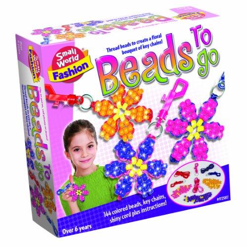 Small World Toys Fashion - Beads to Go Craft Kit