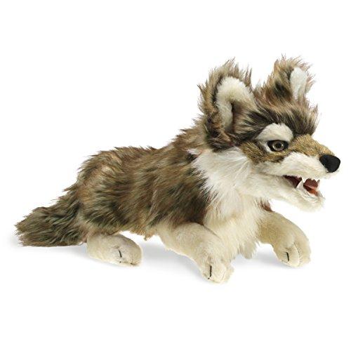 Folkmanis Gray Wolf Hand Puppet