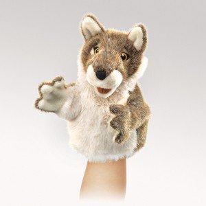 Folkmanis Little Wolf Hand Puppet