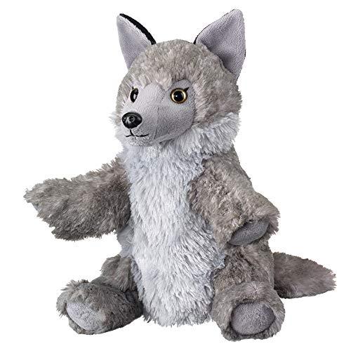Wild and Wonderful Wildlife Artists Wolf 10 Plush Puppet Toy Wolf Puppets Stuffed Animal