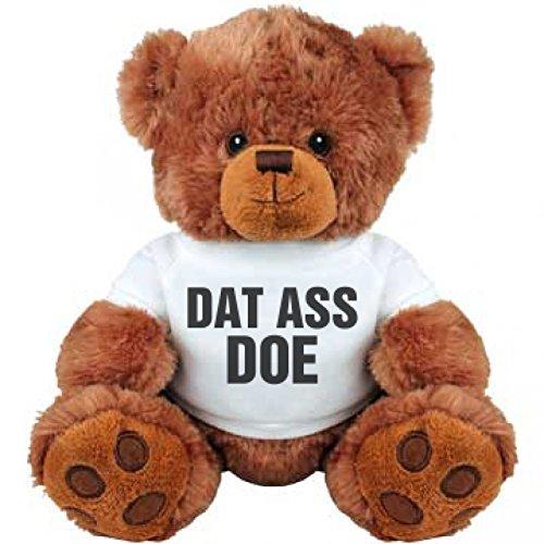 Dat Ass Doe Girlfriend Gift Bear Medium Plush Teddy Bear