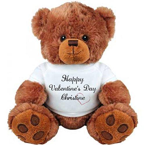 Happy Valentines Day Christine Bear Gift Medium Plush Teddy Bear