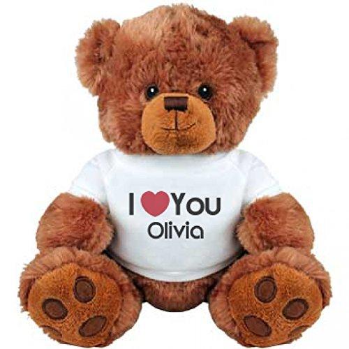 I Heart You Olivia Love Medium Plush Teddy Bear