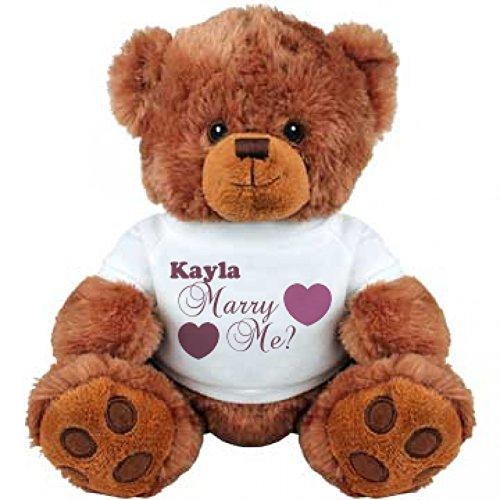 Kayla Will You Marry Me Medium Plush Teddy Bear