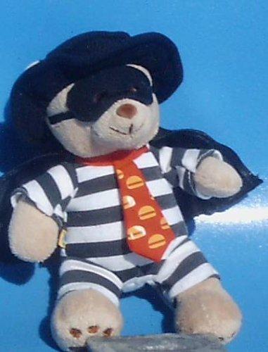 6 Hamburglar Bear McDonalds Hamburglar Teddy Bear Plush