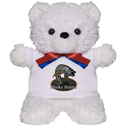CafePress Musky 6 Teddy Bear Plush Stuffed Animal