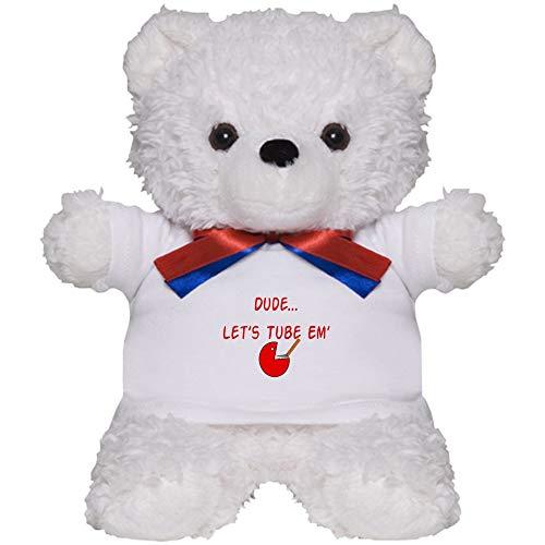 CafePress Respiratory Therapy 6 Teddy Bear Plush Stuffed Animal