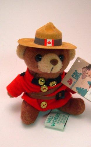 5 Tall Canadian Mounty Teddy Bear