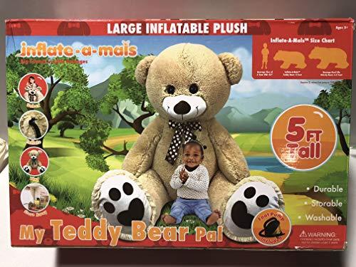 Inflate-a-mals - My Teddy Bear Pal 5ft Tall