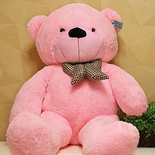Joyfay Giant Pink Teddy Bear- Big 5 ft 63 inch Teddy Bear Huge Plush Stuffed Animal Exactly Like Picture Ships Quickly