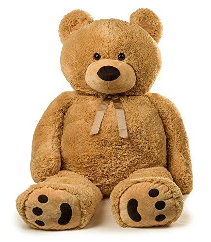 Jumbo Teddy Bear 5 Feet Tall - Tan