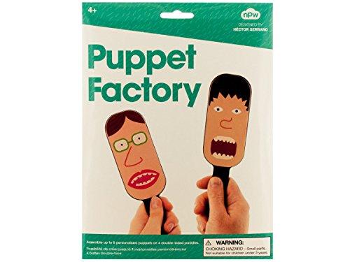 Bulk Buys GW106-48 Puppet Factory Paddle Puppet Making Kit