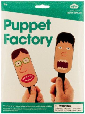 Puppet Factory Paddle Puppet Making Kit Case Pack 24 Kids Children