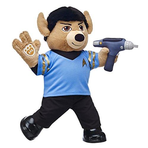 Build-a-Bear Workshop Commander Star Trek Spock Teddy Bear Set