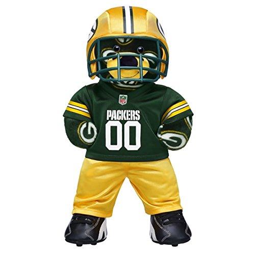 Build-a-Bear Workshop Green Bay Packers Team Teddy Bear Set