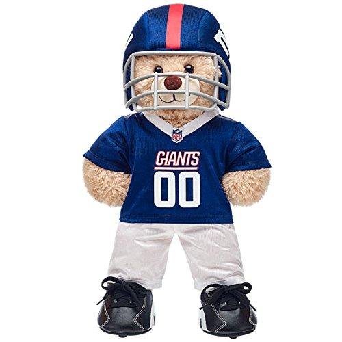 Build-a-Bear Workshop New York Giants Happy Hugs Teddy Bear Set