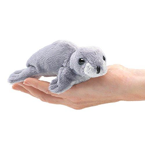 Folkmanis Mini Monk Seal Finger Puppet