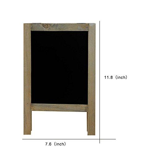 SUPERIORFE Vintage Free Standing Wooden Easel Blackboard 76 W X 1181 L