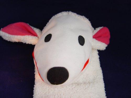 IKEA Klappar Lantlig Plush White Sheep Lamb Hand Puppet