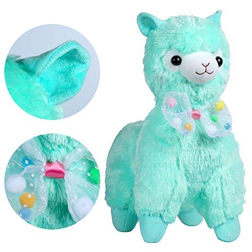 KSB 20 Giant Huge Green Bow Tie Plush Alpaca100 Plush Stuffed Animals Doll ToysBest Birthday Gifts For The Children Kids