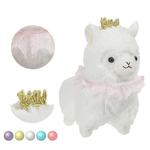 KSB 67 White Crown Plush Alpaca100 Plush Stuffed Animals Doll ToysBest Birthday Gifts For The Children