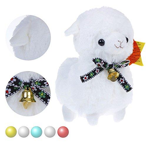 KSB 6 White The Bell Plush Alpaca100 Plush Stuffed Animals ToysBest Birthday Gifts For The Children Kids