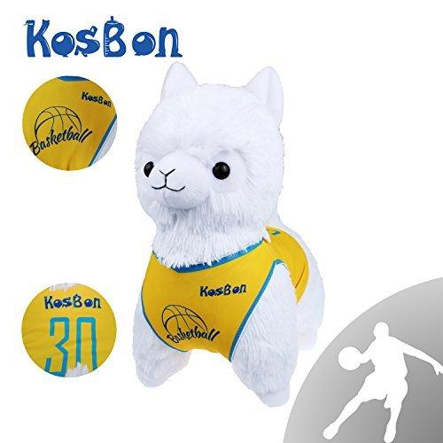 Kosbon 13 Basketball Plush Alpaca100 Plush Stuffed Animals ToysBest Birthday Gifts For The Children Sports Series