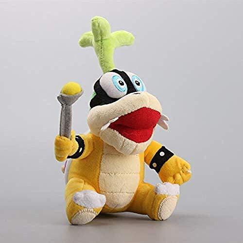 LFSLAS Koopalings Iggy Koopa Plush Stuffed Dolls Gift for Children22 cm