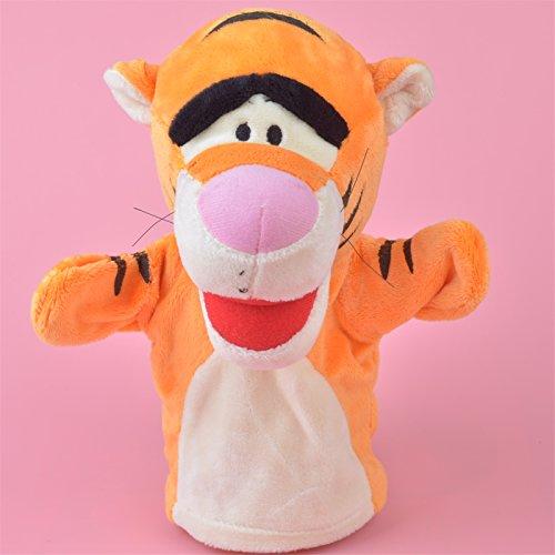 25cm Tiger Hand Puppet Winnie Thepooh Plush Toy Baby Kids Gift