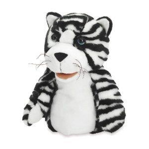 Manhattan Toy Jungle Jangles Tilda Tiger Hand Puppet