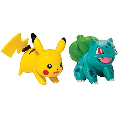 Pokémon 2 Pack Small Figures Pikachu And Bulbasaur