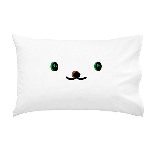 Oh Susannah Teddy Bear Pillowcase For Youth or Toddler Bedding As Kids Room Decor Standard Size Pillowcase 14x205