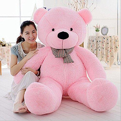 Teddy Bear Stuffed Animals Plush Pillow Giant Teddy Bear Toy Pink 1M  39inch
