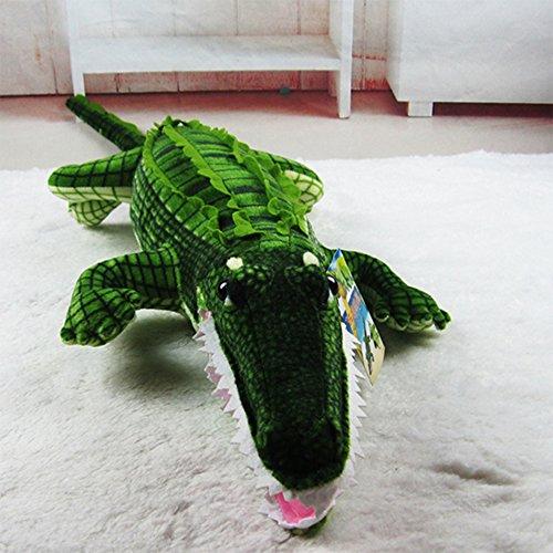 Dongcrystal Green Crocodile Soft Plush Toy Stuffed Animals Doll