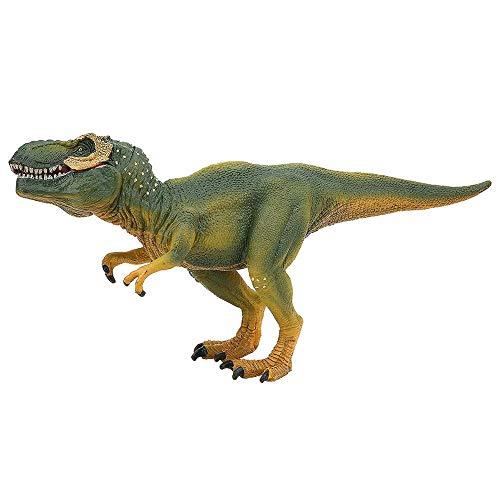 Green Rex Tyrannosaurus Dinosaur Figurine High Simulation Animal Dinosaur Action Figure Model Educational Dino Dinosaur Party Favors Toys for 3 4 5 6 7 8 Year Old Boys Girls