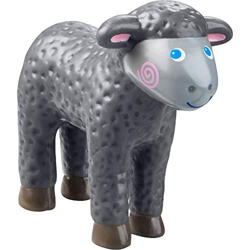 HABA Little Friends Black Lamb - 35 Chunky Plastic Farm Animal Figure