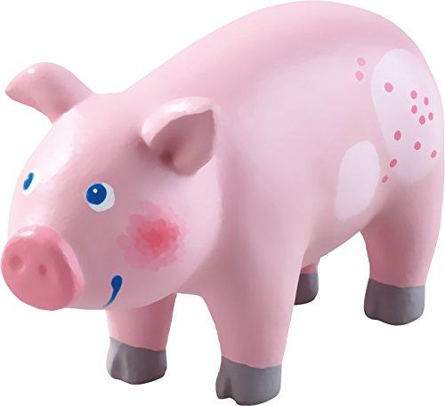 HABA Little Friends Pig - 4 Chunky Plastic Farm Animal Figure
