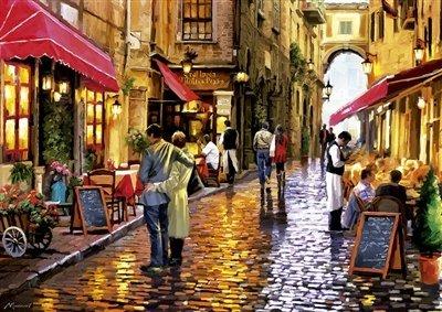 Café Street - Educa 8000 Piece Puzzle