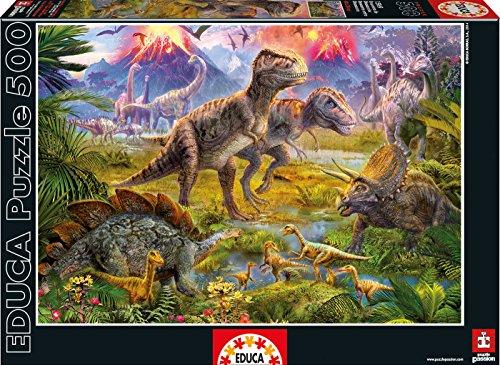 Educa Dinosaur Gathering Puzzle 500 Piece